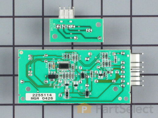 10064583-1-S-Whirlpool-W10757851-Emitter and Receiver  Boards