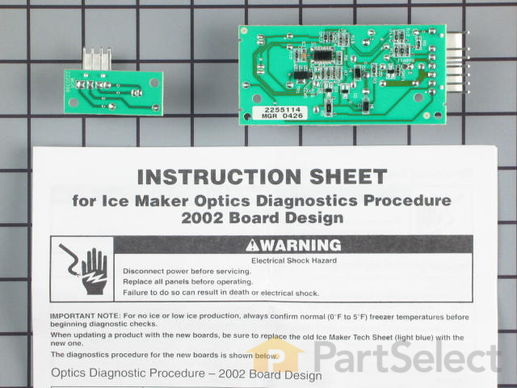 10064583-2-S-Whirlpool-W10757851-Emitter and Receiver  Boards