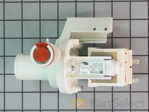 1021347-1-S-GE-WD26X10025        -Drain Pump Assembly