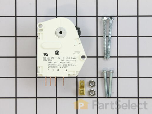 11723171-1-S-Whirlpool-W10822278-Defrost Timer