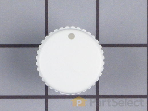 11738808-1-S-Whirlpool-WP21001239-White Selector Knob