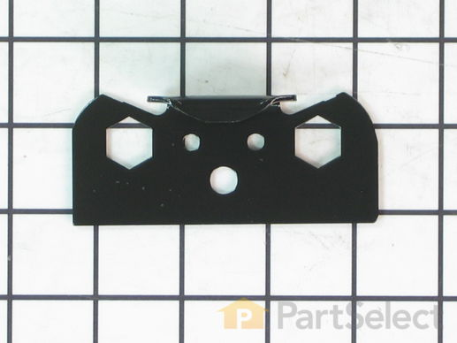 11739622-1-S-Whirlpool-WP2206629B-Bracket, Door Stop (Black)