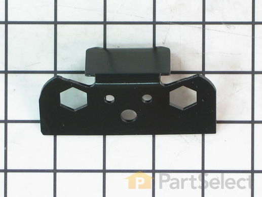 11739622-2-S-Whirlpool-WP2206629B-Bracket, Door Stop (Black)