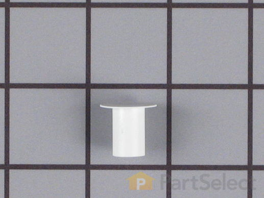 11739707-1-S-Whirlpool-WP2212648-Hinge Sleeve Hole Plug - White