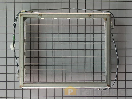 11740334-2-S-Whirlpool-WP2313637-Ice Cutter Grid Complete Assembly