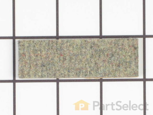 11740710-1-S-Whirlpool-WP31001356-Right Side Drum Glide Pad