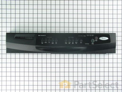 11741390-1-S-Whirlpool-WP3385741-Control Panel with Touchpad