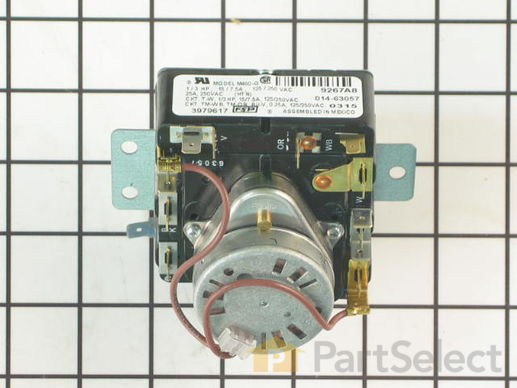 11742197-3-S-Whirlpool-WP3979617-Timer, 60 Hz.