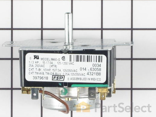 11742198-2-S-Whirlpool-WP3979618-Timer - 60Hz