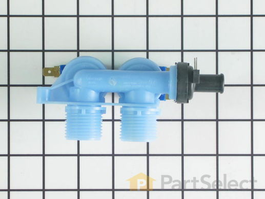 11742270-2-S-Whirlpool-WP40107001-Water Inlet Valve