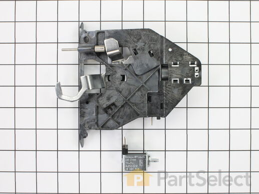 Whirlpool Wp4451896 Oven Door Latch Assembly Manual Guide