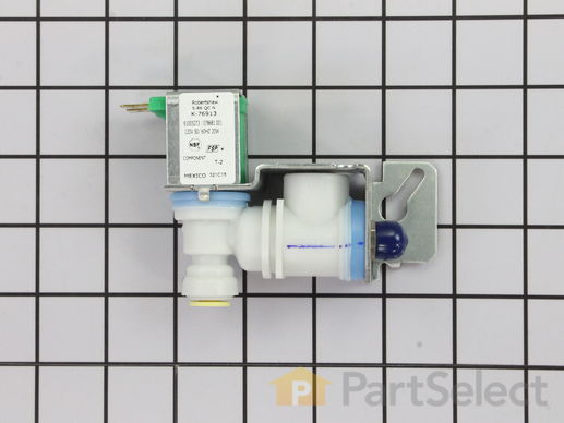 11743223-1-S-Whirlpool-WP61005273-Single Outlet Water Valve