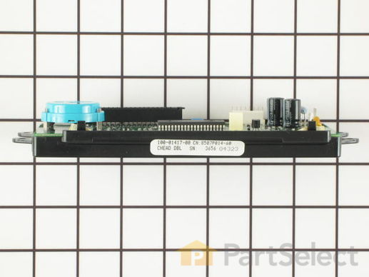 11743864-3-S-Whirlpool-WP71001872-Electronic Clock Assembly