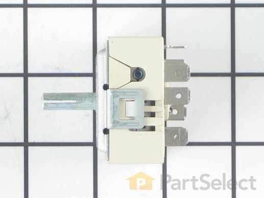11744018-2-S-Whirlpool-WP74003122-Dual Surface Burner Switch