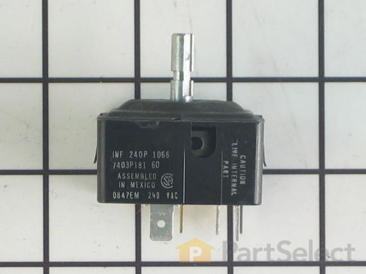 11744484-2-S-Whirlpool-WP7403P181-60-Burner Control Switch - 250V