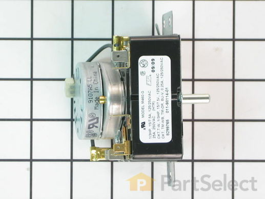 11745790-3-S-Whirlpool-WP8299765-Timer Assembly (60 Hz.)