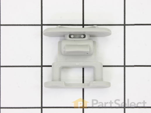11747648-1-S-Whirlpool-WP99002135-Dishrack Guide Rail Stop - gray