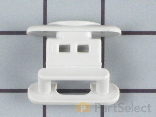 11747648-3-S-Whirlpool-WP99002135-Dishrack Guide Rail Stop - gray