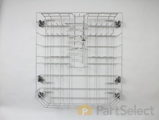 11747681-1-S-Whirlpool-WP99002571-Lower Dishrack Assembly - Grey