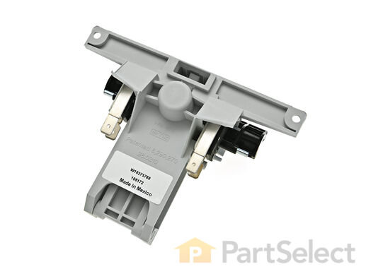 11748729-1-S-Whirlpool-WPW10130695-Door Handle and Latch Assembly with Switches