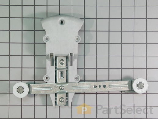 11749127-2-S-Whirlpool-WPW10153532-Rack Adjuster with Wheels- Right Side