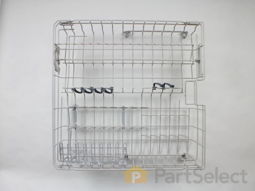 11750929-1-S-Whirlpool-WPW10243301-Upper Dishrack with Wheels