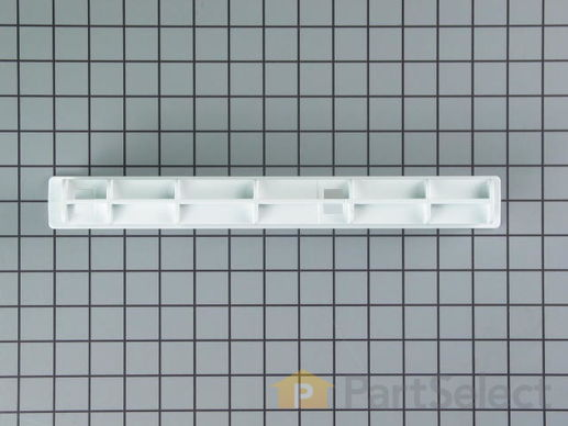 11757048-3-S-Whirlpool-WPW10671238-Center Crisper Rail - White