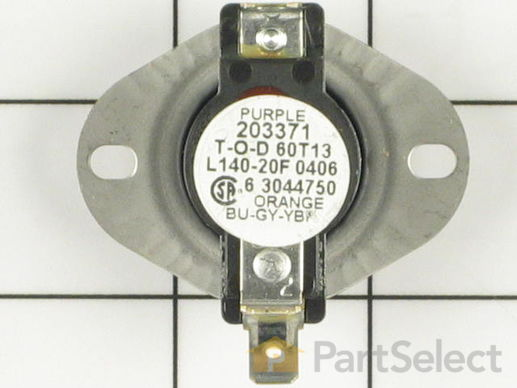 11757518-1-S-Whirlpool-WPY304475-Cycling Thermostat (Limit: 140-20)