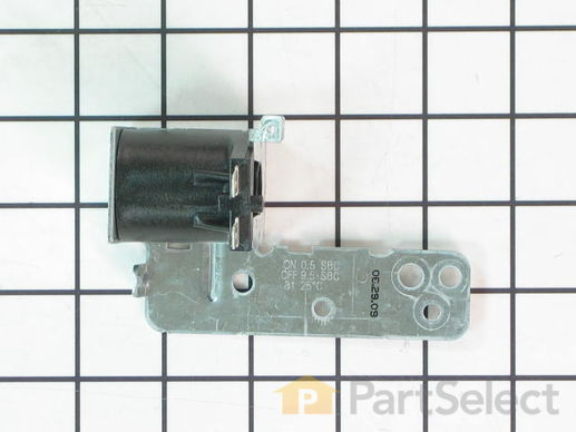 1481923-1-S-GE-WD21X10268        -Drain Solenoid and Bracket Assembly