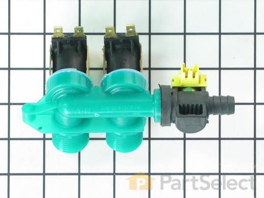 1488129-2-S-Whirlpool-8578341           -Water Inlet Valve with Bi-Metal Thermistor