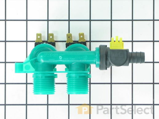 1488129-3-S-Whirlpool-8578341           -Water Inlet Valve with Bi-Metal Thermistor