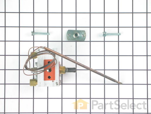 1736167-1-S-Whirlpool-W10125661-Oven Thermostat with Flange