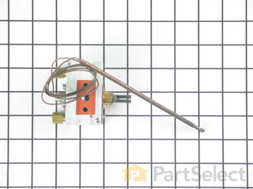 1736167-2-S-Whirlpool-W10125661-Oven Thermostat with Flange
