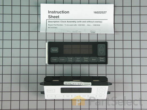 2003193-1-S-Whirlpool-12001617-Electronic Control with Overlay - Black