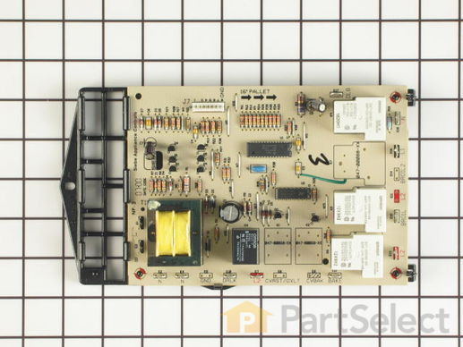 2003437-1-S-Whirlpool-12001914-Lower Relay Board with Harness