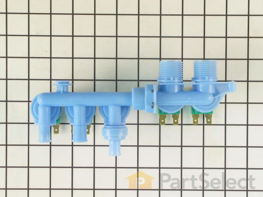 2020338-1-S-Whirlpool-22002437-Water Inlet Valve - 4 Coil