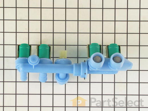 2020338-4-S-Whirlpool-22002437-Water Inlet Valve - 4 Coil