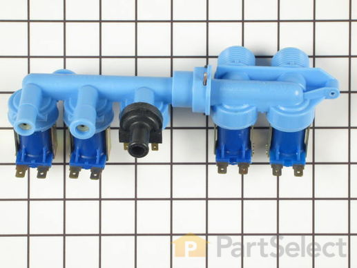 2020877-3-S-Whirlpool-22003245-Water Valve - 4 Coils