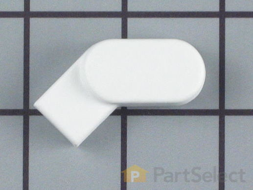 2029983-1-S-Whirlpool-306830W-Latch Handle Knob - White
