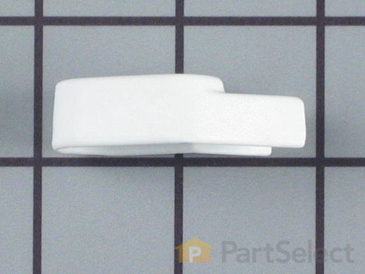 2029983-3-S-Whirlpool-306830W-Latch Handle Knob - White