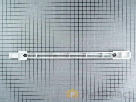 2058241-3-S-Whirlpool-61002427-Kickplate With Clips - White