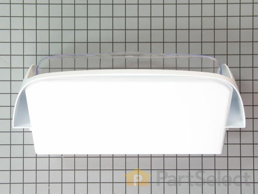 2067051-2-S-Whirlpool-67002957-Dairy Door - White/Clear