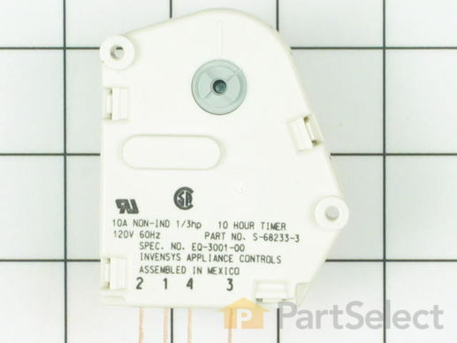 2072567-1-S-Whirlpool-68233-3-Defrost Timer