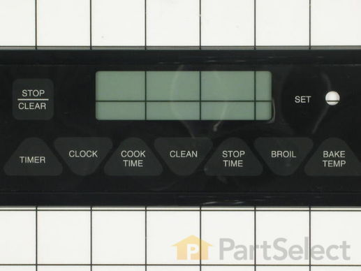 2089486-3-S-Whirlpool-7403P331-60-Oven/Clock Membrane Touch Panel