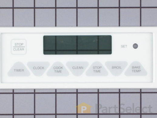 2089490-2-S-Whirlpool-7403P338-60-Oven/Clock Touchpad Membrane