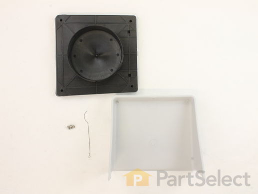 "2105233-1-S-Whirlpool-A406-Wall Vent Cap Kit - 6"" duct"