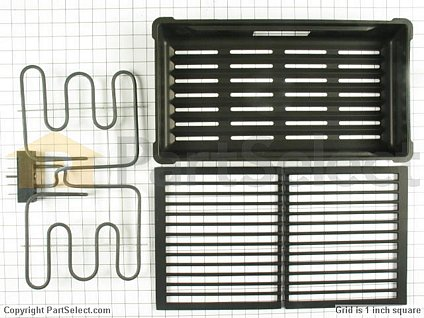 2106834-1-S-Whirlpool-AO330-Expressions Collection Electric Grill Assembly
