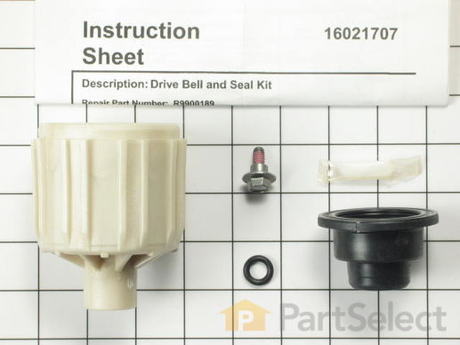 2174335-2-S-Whirlpool-R9900189-Drive Bell and Seal Kit