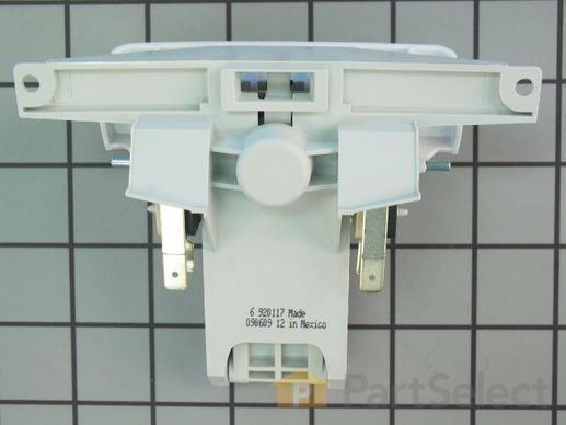 2180049-2-S-Whirlpool-W10130697-Handle and Door Latch Assembly with Switches