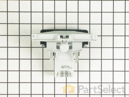 2180050-1-S-Whirlpool-W10130698-Handle and Latch Assembly with Switches